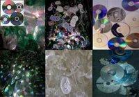 Polycarbonate CD Plastic Scrap