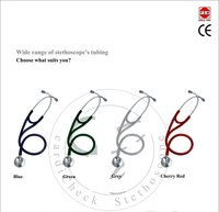 Dual Head Stethoscope Cardiology Stainless Steel