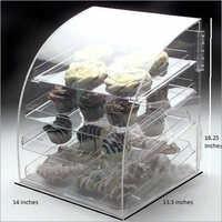 Clear Acrylic Bakery Display Case