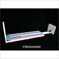Acrylic infantometer narrow