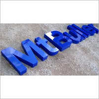 Acrylic Rising Letters