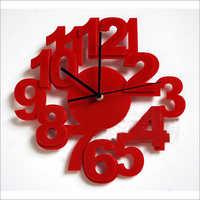 acrylic algo clock