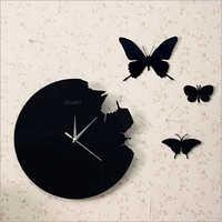 acrylic contemporary wall clocks