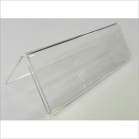 Acrylic conference name plate A type 2nd