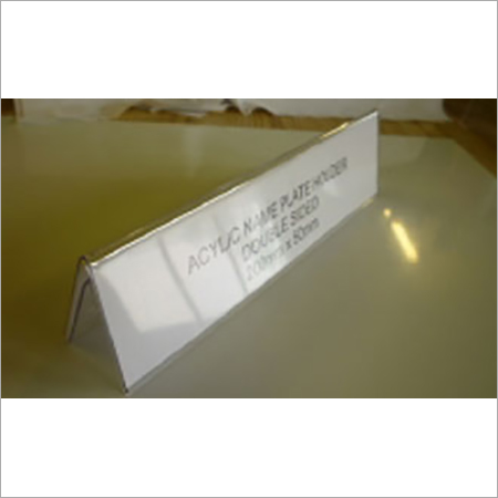 Acrylic conference name plate A type