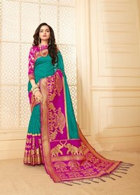 Designer Trendy Silk Saree