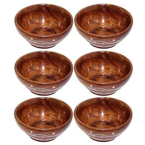Round Wooden Bowls