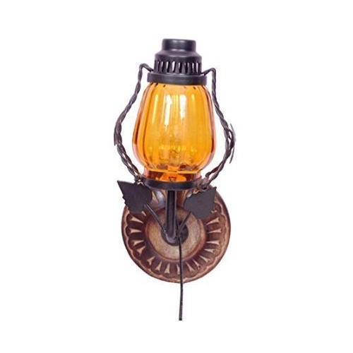 Wall Hanging Electric Chimney Lamp