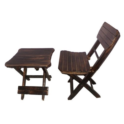 Portable Folding Chair With Table