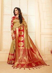 Designer Trendy Silk Saree