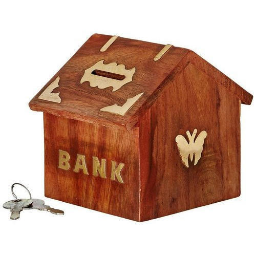 Hut Shaped Coin Bank