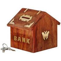 Hut Shaped Coin Bank