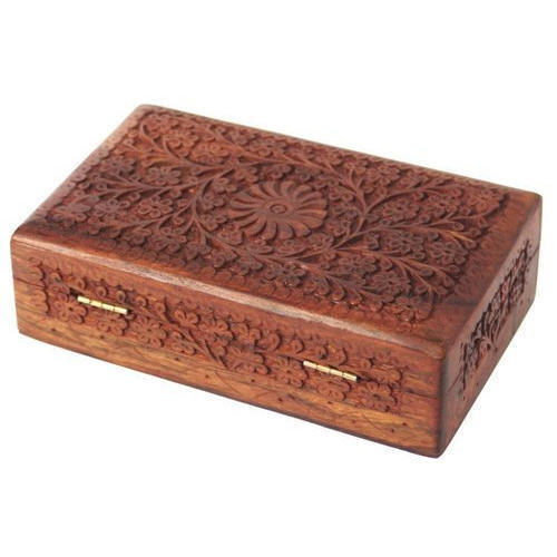 Floral Design Wooden Box