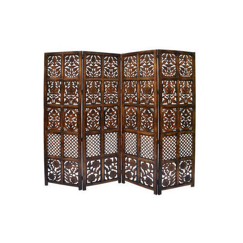 Designer Wood Room Divider