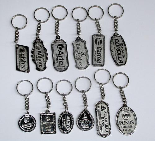 Designer Metal Keyring