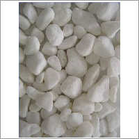 Coarse White Tumbled Pebble
