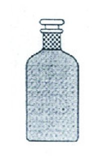 Bottles Narrow Mouth With Interchangable Flat Head