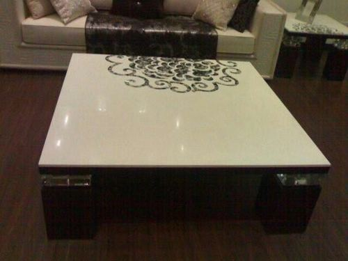 Center Table With Italian Marbal Top
