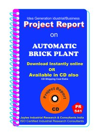 Automatic Brick Plant Establishment Project report eBook