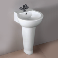 White Design Wash Basin