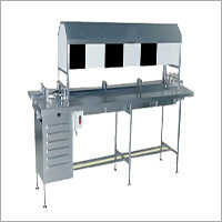 Manual Vial Bottle Inspection Table