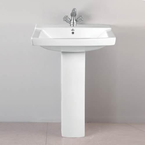 Square Wash Basin With Pedestal