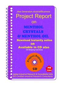 Menthol Crystals and Menthol Oil Manufacturing eBook