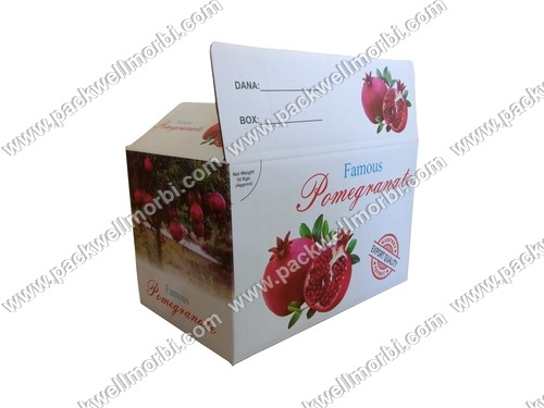 Best Quality Pomegranate Anar Packaging Box Carton