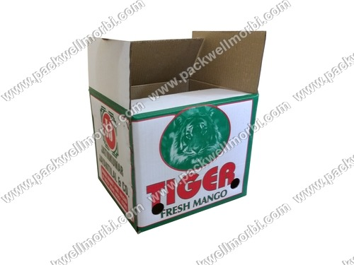 Corrugated Box Carton For Mango Packaging