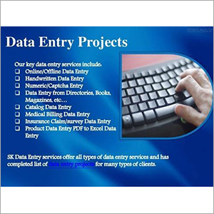 Data Entry Solutions, Data Entry Solutions At Affordable Prices, India