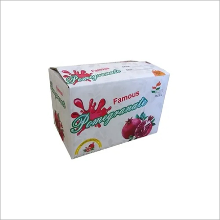 Pomegranate Packaging Box Carton