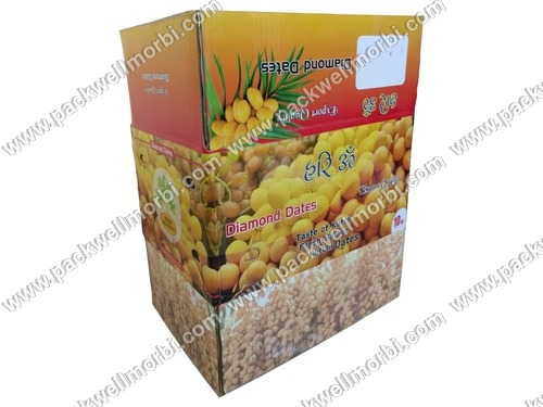 Best Quality corrugated Box Carton for Dates