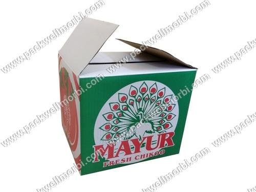 Sapodilla/Chikoo packaging Box