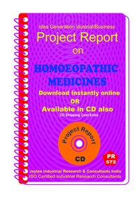 Homeopethic Medicines manufacturing Project Report eBook