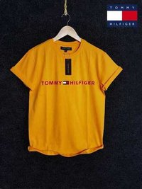 Yellow Round Neck T-Shirts