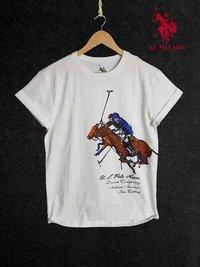 White Based Designed T-Shirts