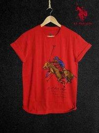Red Color Designer T-Shirts