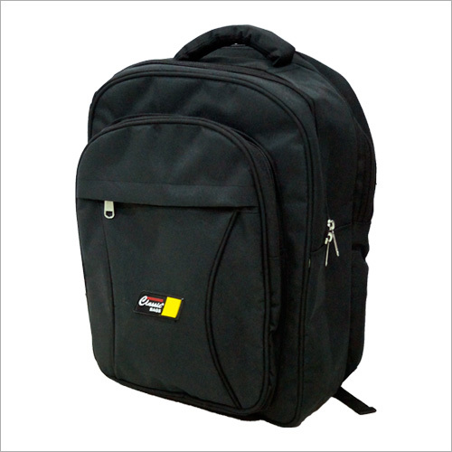 Black Plain School Bag