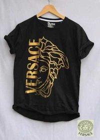Black Round Neck T-Shirts