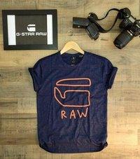 Black Designer Round Neck T-Shirts