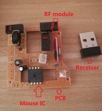 Wireless Mouse IC Optical sensor Mx8650a Dip8l 3-6 Buttons Cpi 400/ 500/ 600/ 800/ 1000(Default)/ 1200 / 1600