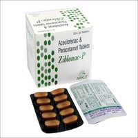 Aceclofenac Paracetamal 325 mg Tablets