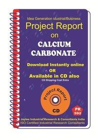 Calcium Carbonate II Manufacturing Project report eBook