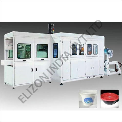 Automatic Plastic Glass Making Machine
