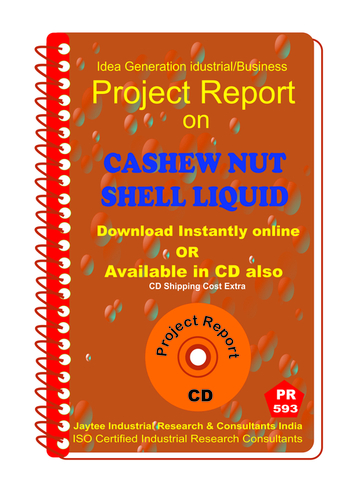 Cashew Nut shell Liquid Manufacturing eBook