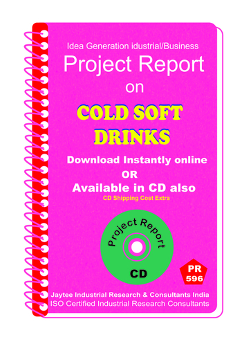 Cold Soft Drinks Manufacturing Project Report eBook