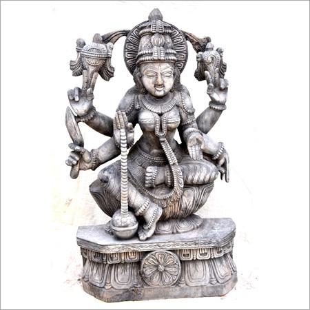 Metal Veera Lakshmi Statue