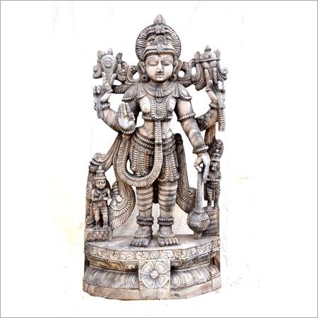 Metal Perumal Statue