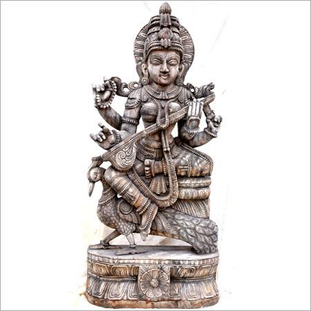 Metal Saraswati Statue