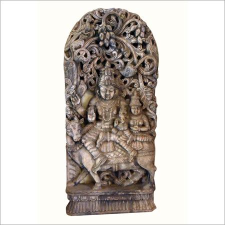 Metal Shiva Shakti Statue